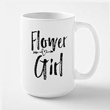 Kids Flower Girl Bridesmaid Wedding Reception Mugs