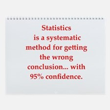 Statistics Wall Calendar