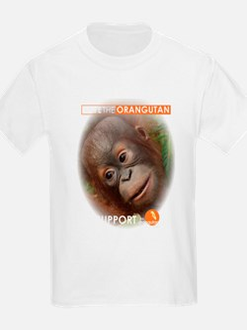 Save the Orangutan Women's Cap Sleeve T-Shirt
