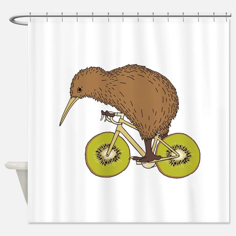 Kiwi bird bathroom accessories decor cafepress for Decoration kiwi