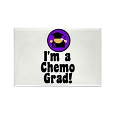 I'm a Chemo Grad Rectangle Magnet (10 pack)