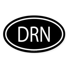 DRN Oval Decal