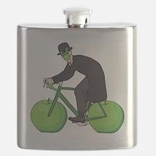 Bicycle art Flask