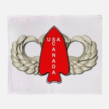 1st Special Service Force - Wings Throw Blanket