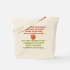 Funny Aries zodiac Tote Bag