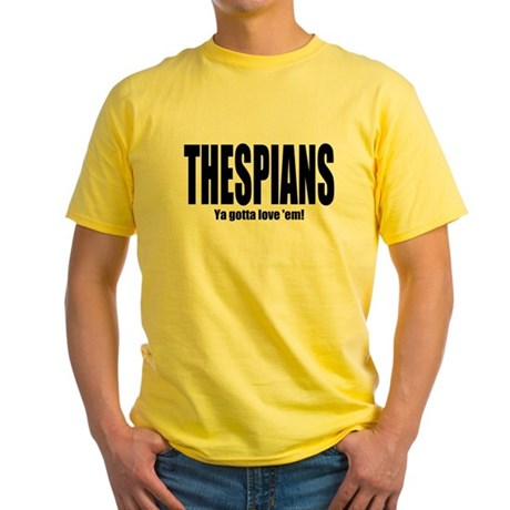 "ThMisc ""Thespians"" Yellow T-Shirt"