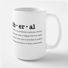 Proudly Liberal Mugs