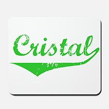 Cristal Vintage (Green) Mousepad