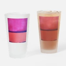 ROTHKO PINK BLUE BEACH Drinking Glass