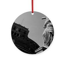 Castel Sant'Angelo, Rome Ornament (Round)