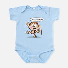 Monkey Says That's Crazy! Body Suit