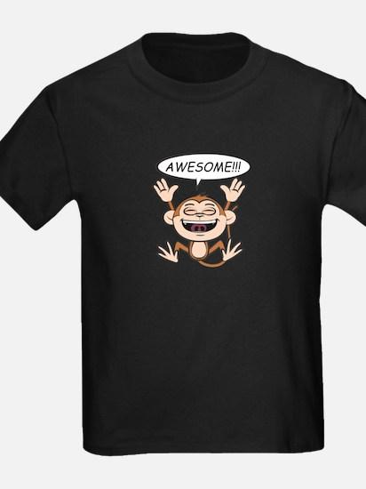 Monkey Says Awesome! T-Shirt
