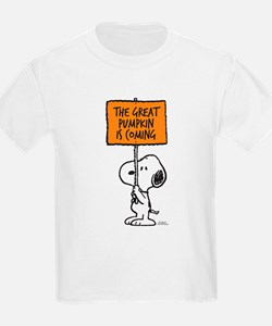 The Great Pumpkin Is Coming T-Shirt