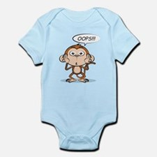Monkey Says Oops! Body Suit
