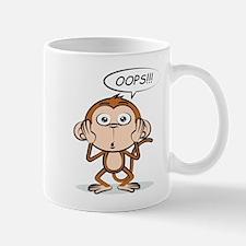 Monkey Says Oops! Mugs