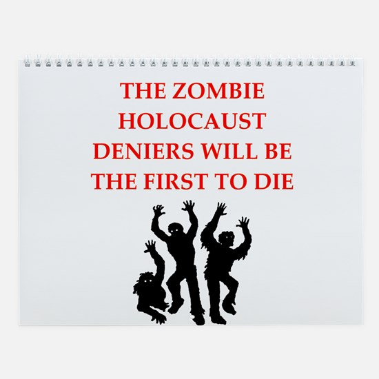 Zombie Wall Calendar