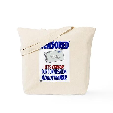 Censored! Tote Bag