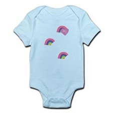 Anti Glitter Rainbows Infant Bodysuit
