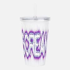 Scream Logo Acrylic Double-wall Tumbler