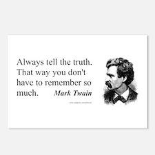 Twain Postcards (Package of 8)