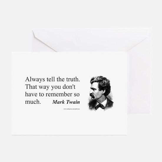 Twain Greeting Cards (Pk of 10)