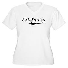 Estefania Vintage (Black) T-Shirt