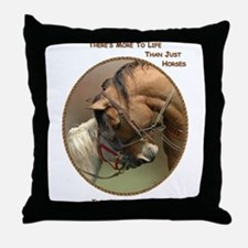 Also Ponies - Throw Pillow