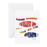 Good job Greeting Cards (20 Pack)