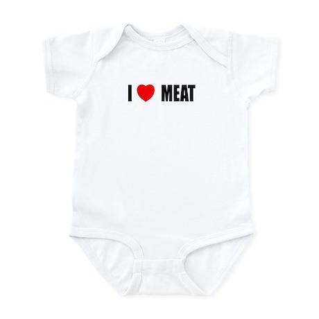 I Love Meat Infant Bodysuit