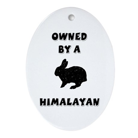 Owned by a Himalayan Keepsake (Oval)