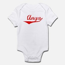 Anya Vintage (Red) Infant Bodysuit