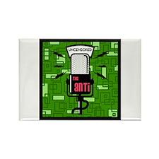 Anti Green Mic Rectangle Magnet