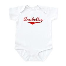 Arabella Vintage (Red) Infant Bodysuit