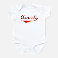 Araceli Vintage (Red) Infant Bodysuit
