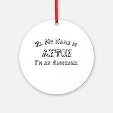 Anton Ornament (Round)