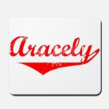 Aracely Vintage (Red) Mousepad