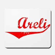 Areli Vintage (Red) Mousepad