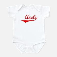 Areli Vintage (Red) Infant Bodysuit