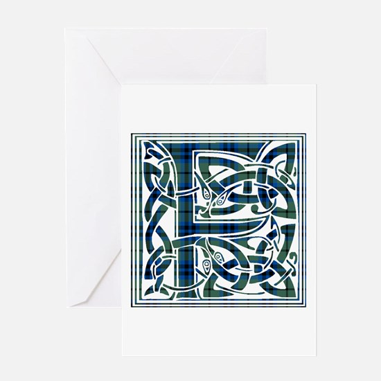 Monogram - Falconer Greeting Card
