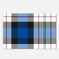 Tartan - Fergusson dress Postcards (Package of 8)