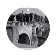 Pont Sant'Angelo, Rome Ornament (Round)