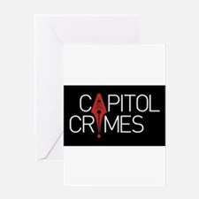 Capitol Crimes Greeting Cards