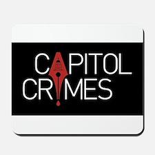 Capitol Crimes Mousepad