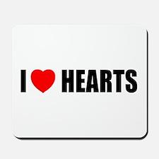 I Love Hearts Mousepad