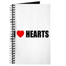 I Love Hearts Journal
