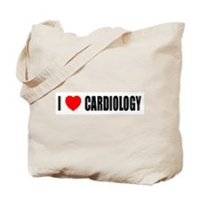 I Love Cardiology Tote Bag