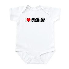 I Love Cardiology Infant Bodysuit