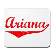 Ariana Vintage (Red) Mousepad