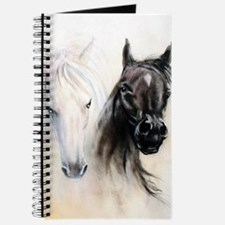 Horses Canvas Painting Journal