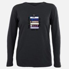 Cute Avid reader Plus Size Long Sleeve Tee